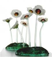 blomster på fod